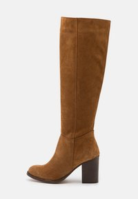 Anna Field - LEATHER - Boots - cognac - 1