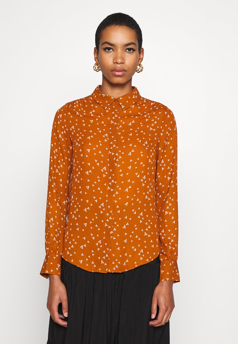 Another-Label - MAPLE ACARDE - Blouse - almond