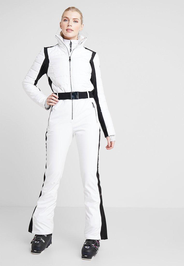 Luhta - JAAMA - Pantaloni da neve - optic white