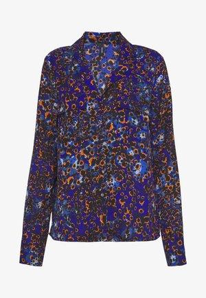 VMLAIA - Button-down blouse - mazarine blue