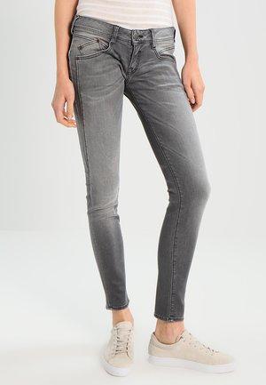 GILA SLIM - Slim fit jeans - dark ash