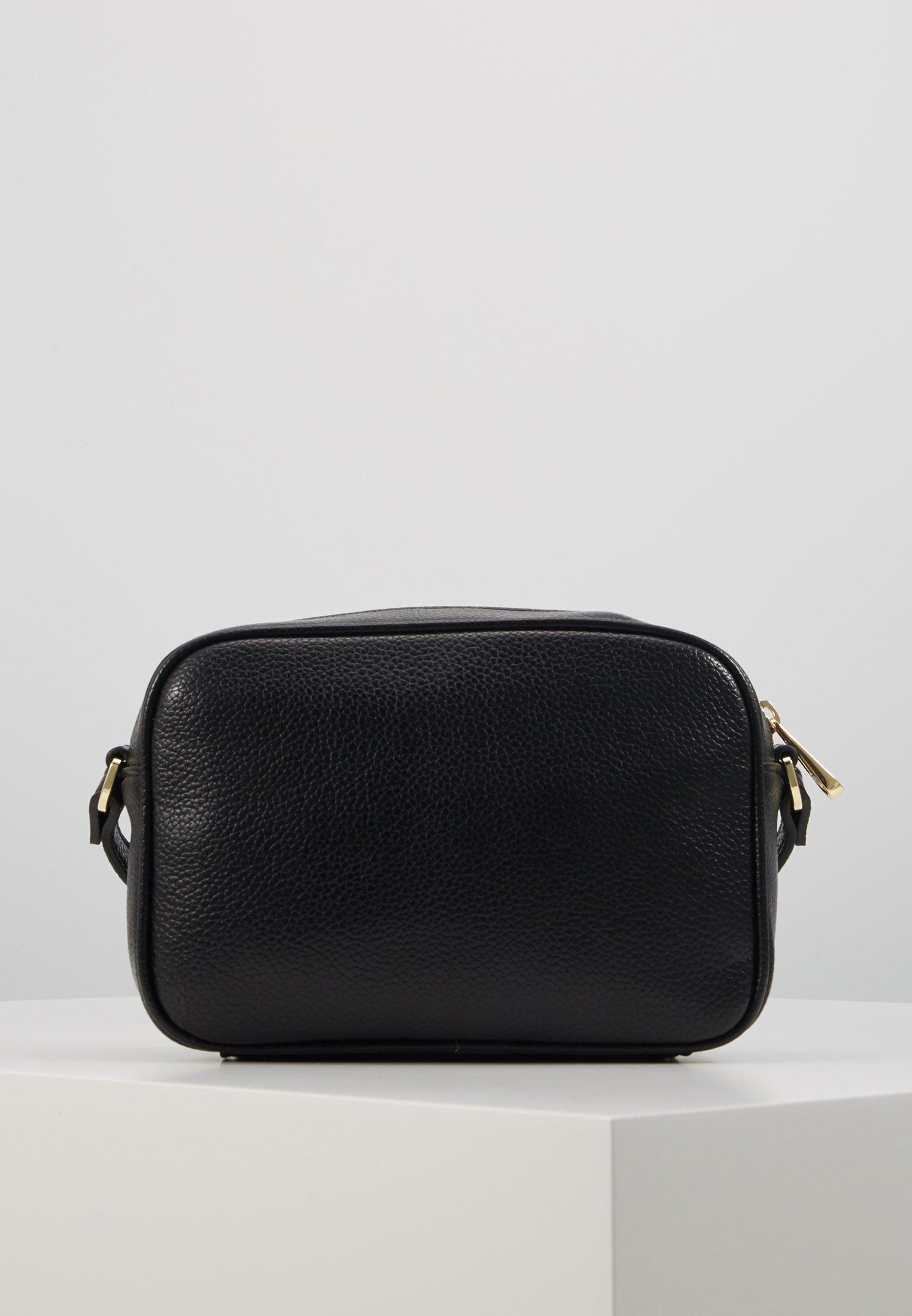 Trussardi Jeans FAITH CAMERA CASE - Skulderveske - black/svart cbl47i6V9JY8cdo