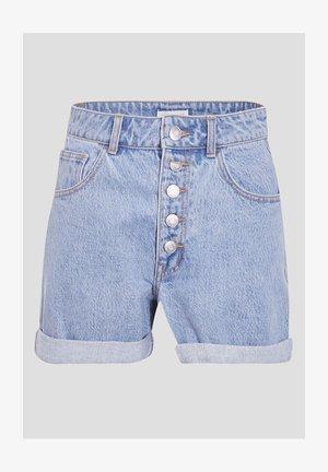Jeansshort - denim bleach
