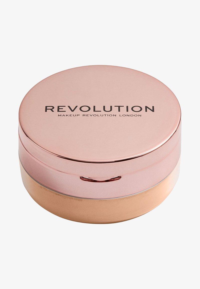 Make up Revolution - CONCEAL & FIX SETTING POWDER - Setting spray & powder - medium pink