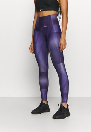 LUX  - Leggings - purple