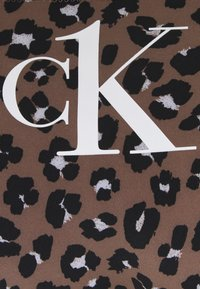 Calvin Klein Swimwear - BIKINI PRINT - Bikini bottoms - brown - 5