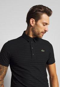 Lacoste Sport - GOLF STRIPE - Sports shirt - black - 3