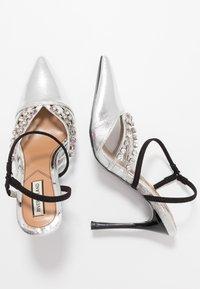 River Island - Zapatos altos - silver - 3