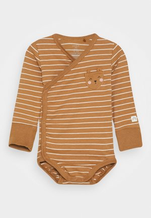 WRAP POCKET DETAIL UNISEX - Body - dusty brown