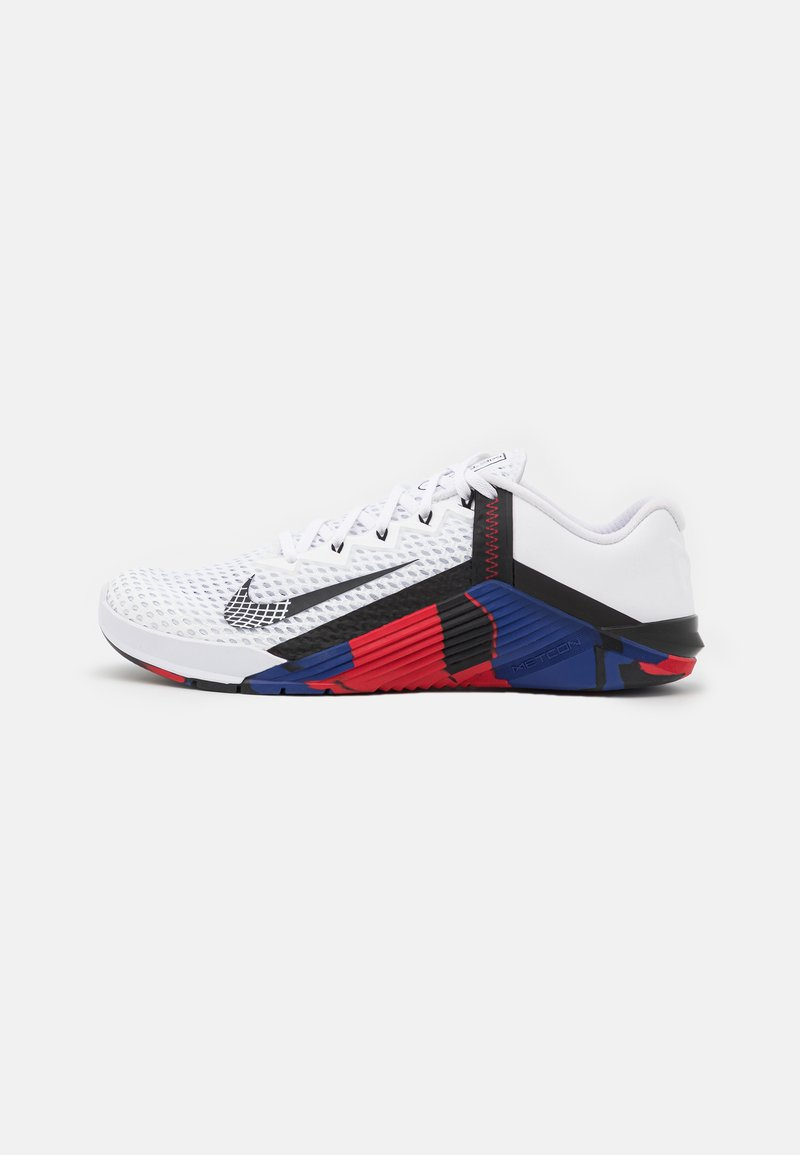 Nike Performance - METCON 6 EXCLUSIVE UNISEX - Gym- & träningskor - white/blackgym red/deep royal blue