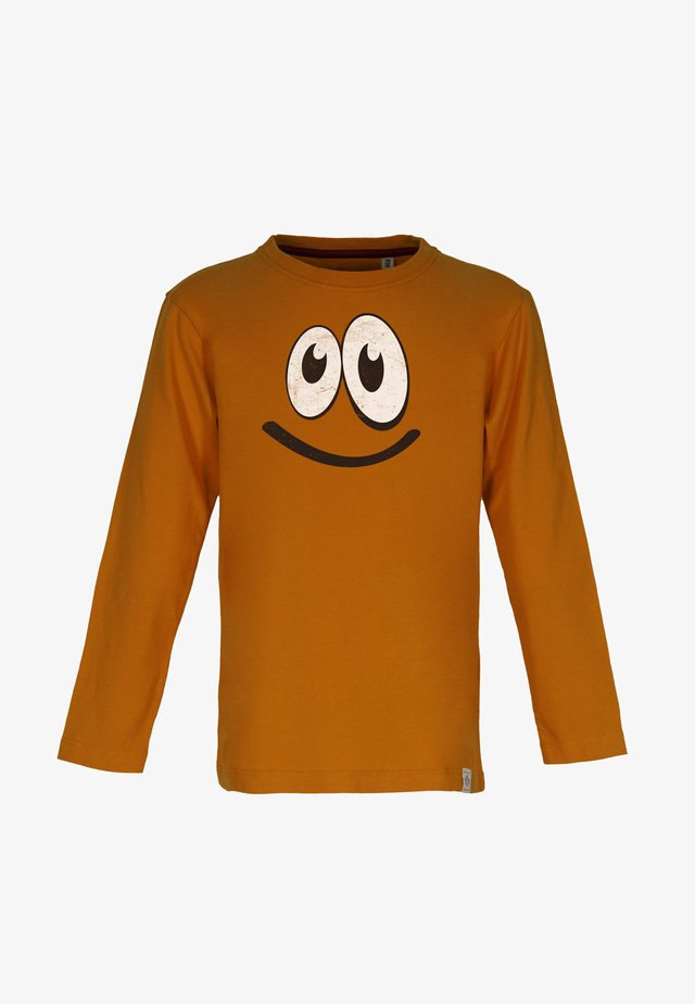 SMILE - Long sleeved top - rust