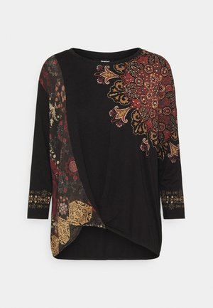 OPORTO - Long sleeved top - black