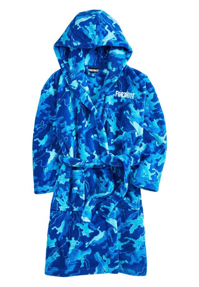 BLUE FORTNITE ROBE (9-16YRS) - Dressing gown - blue