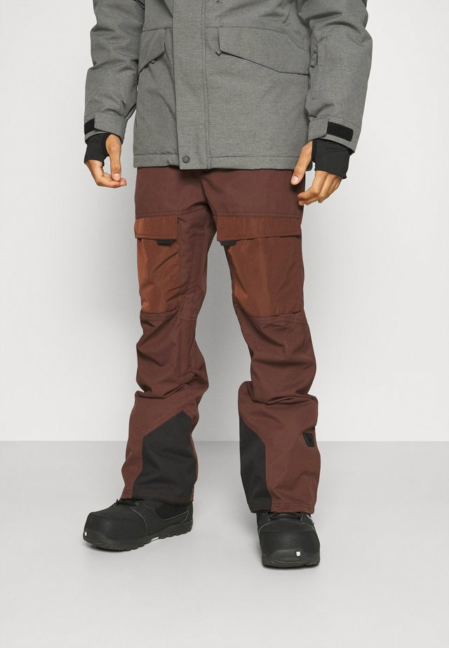 PANTS - Zimní kalhoty - bitter chocolate