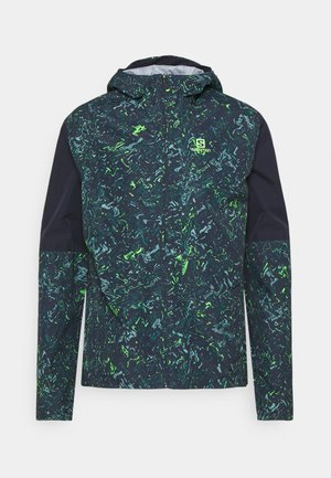 Waterproof jacket - night sky