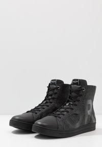 Michael Kors - KEATING TOP - Sneakers alte - black - 2