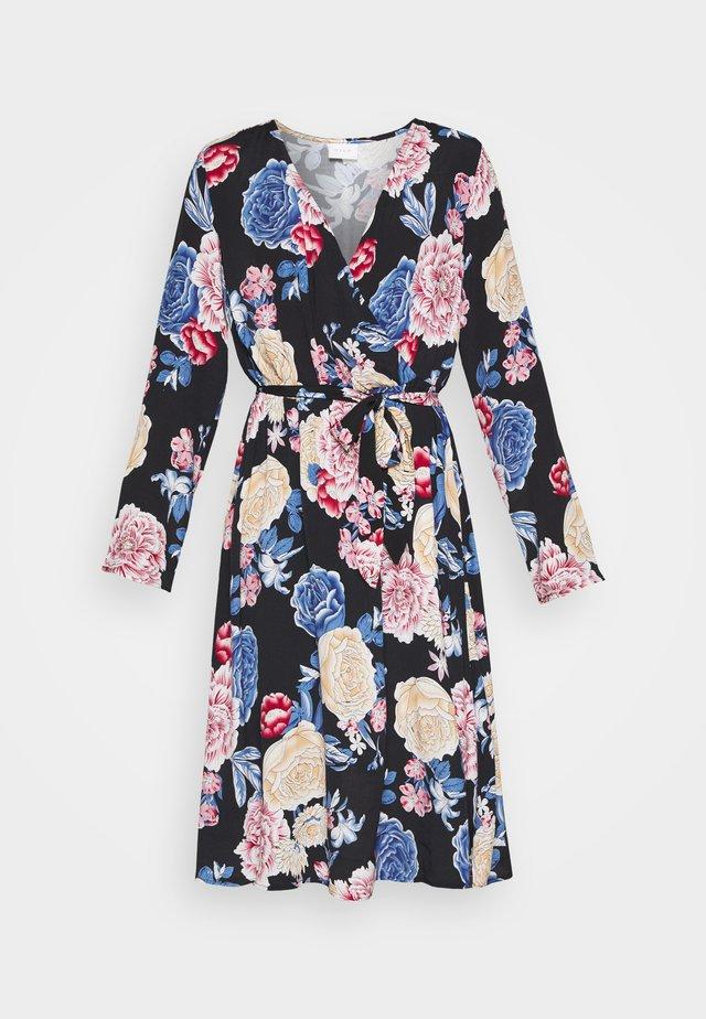 VIKITTIE DRESS - Denní šaty - black/blue/rose/beige
