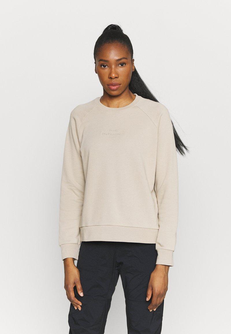 Peak Performance - ORIGINAL LIGHT CREW - Sweatshirt - celsian beige