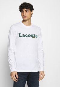 Lacoste - Long sleeved top - white - 0