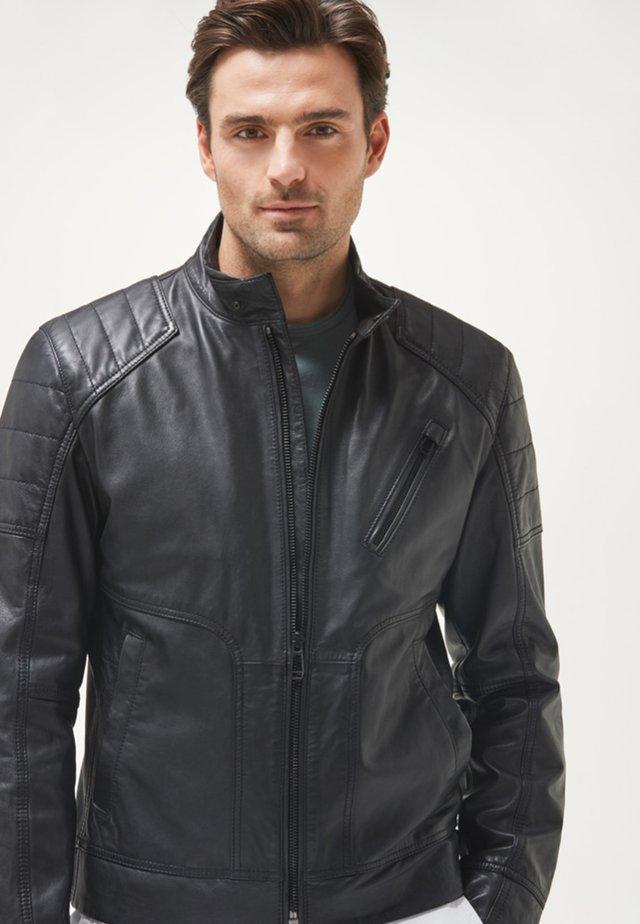 LIMA - Leren jas - black