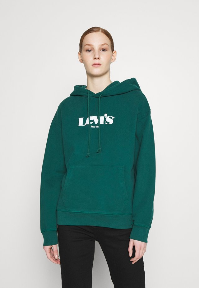 GRAPHIC STANDARD HOODIE - Mikina s kapucí - forest