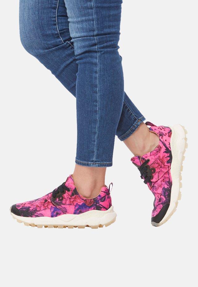 Sneakers basse - fuchsie