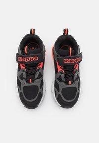 Kappa - UNISEX - Sports shoes - black/coral - 3