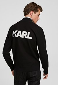 KARL LAGERFELD - Cardigan - black - 0