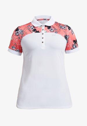 ELEMENT BLOCK  - Poloshirt - hermosa sugar coral