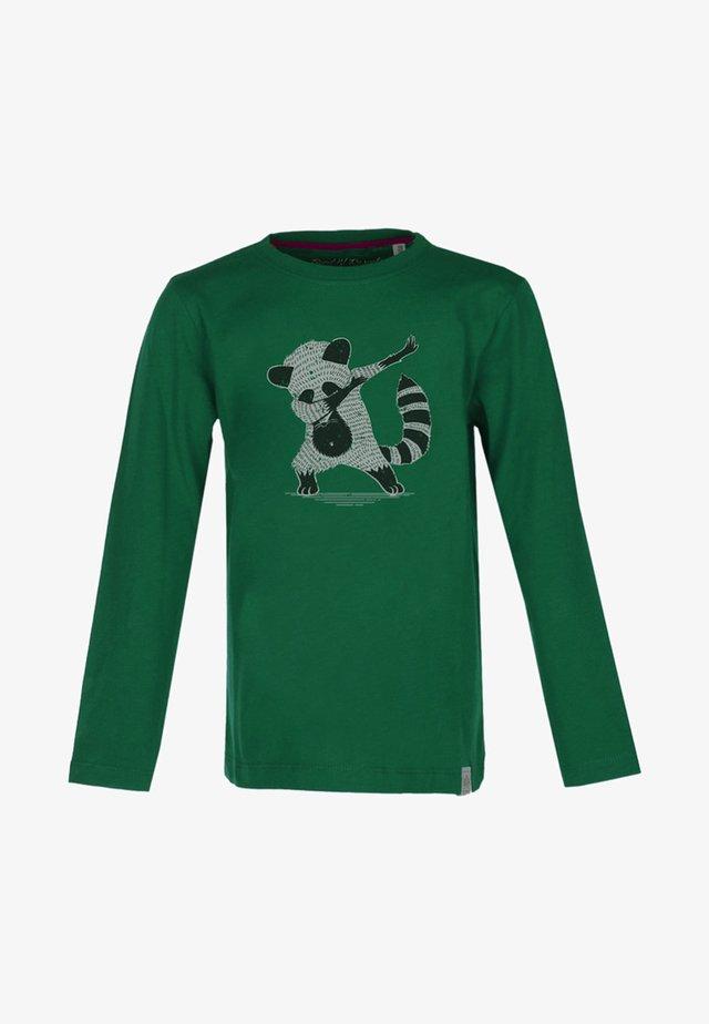 Langærmede T-shirts - dark green