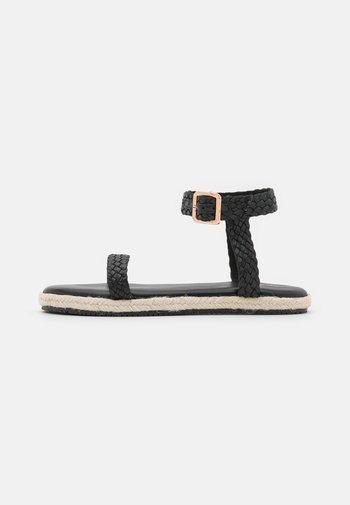 YASRINNA - Sandals - black