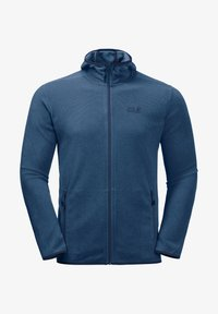 Jack Wolfskin - Fleece jacket - indigo blue stripes - 3