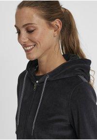 Oxmo - Zip-up hoodie - insignia b - 3