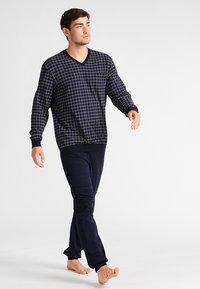 Schiesser - SET - Pyjama set - dunkelblau - 1