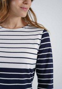Armor lux - MARINIERE - Long sleeved top - marine deep/blanc - 2