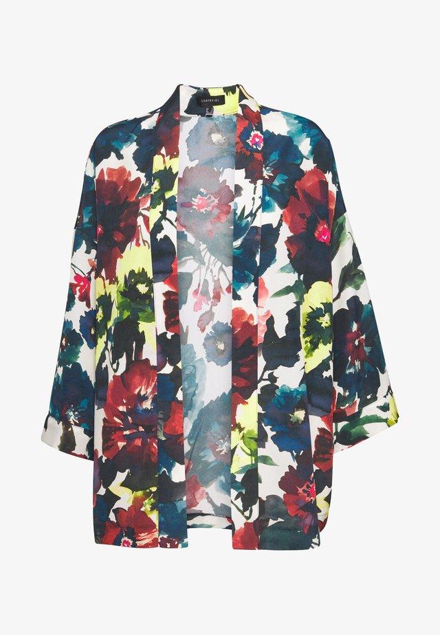 SHORT PRINTED KIMONO - Summer jacket - multicoloured