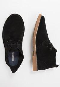 Jack & Jones - JFWGOBI - Casual lace-ups - black - 1
