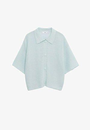 Button-down blouse - vert d´eau