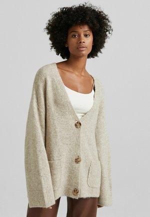 BASIC-OVERSIZE - Cardigan - beige