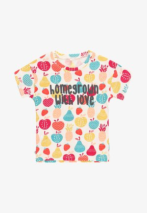 T-shirt print - multi coloured