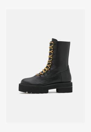 RALEIGH ULTRALIFT BOOTIE - Platform ankle boots - black