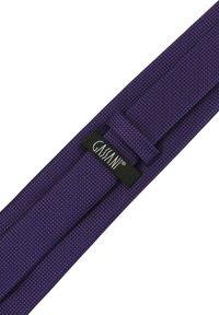 GASSANI - 3 SET - MORENO CRAVATTA  - Pocket square - schwarz  purpurviolett lila getupft - 4