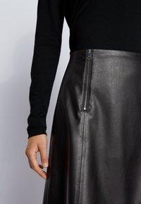 BOSS - A-line skirt - black - 3