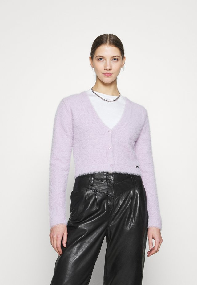 JAMIE KNIT PASTEL PURPLE WOMEN - Vest - pastel purple
