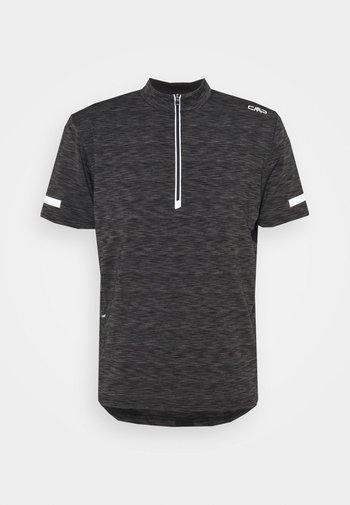 MAN BIKE - T-shirt z nadrukiem - nero