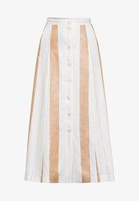 IVY & OAK - A-line skirt - beige - 4