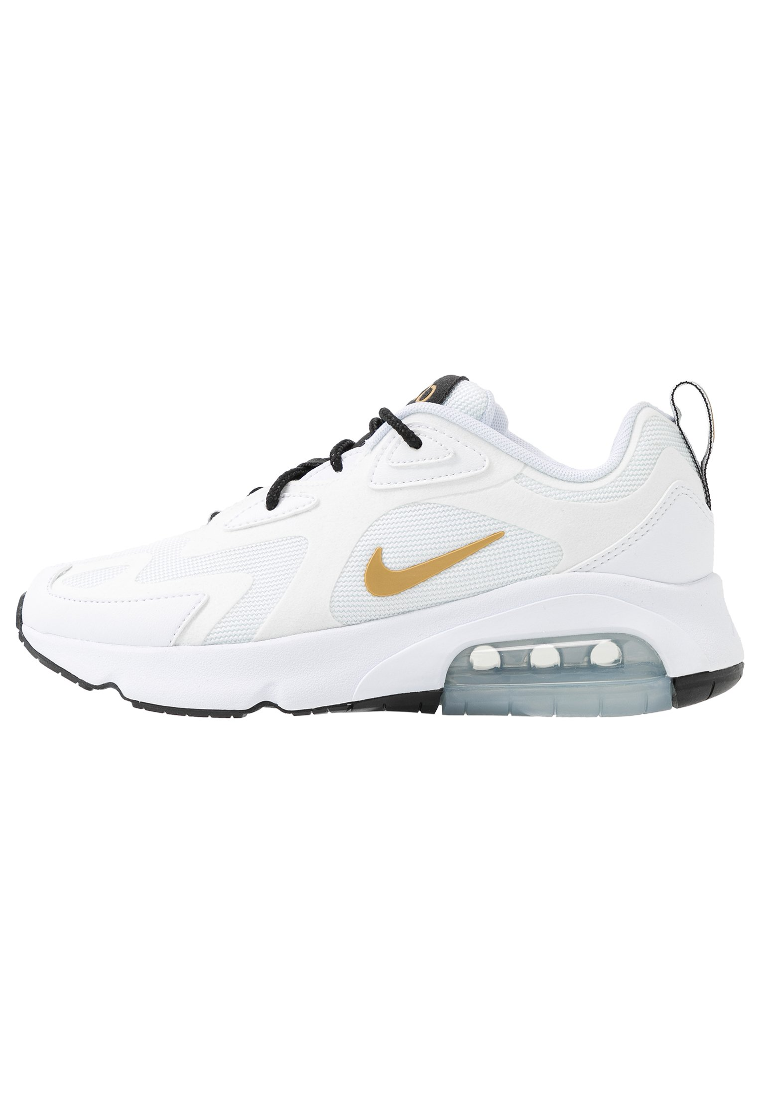 Nike Sportswear AIR MAX 200 Joggesko whitemetallic gold