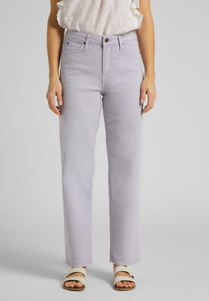 WIDE LEG - Jeansy Relaxed Fit - lilac