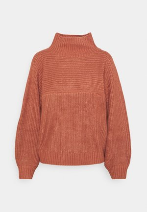 LIBBY - Strickpullover - orange medium dusty