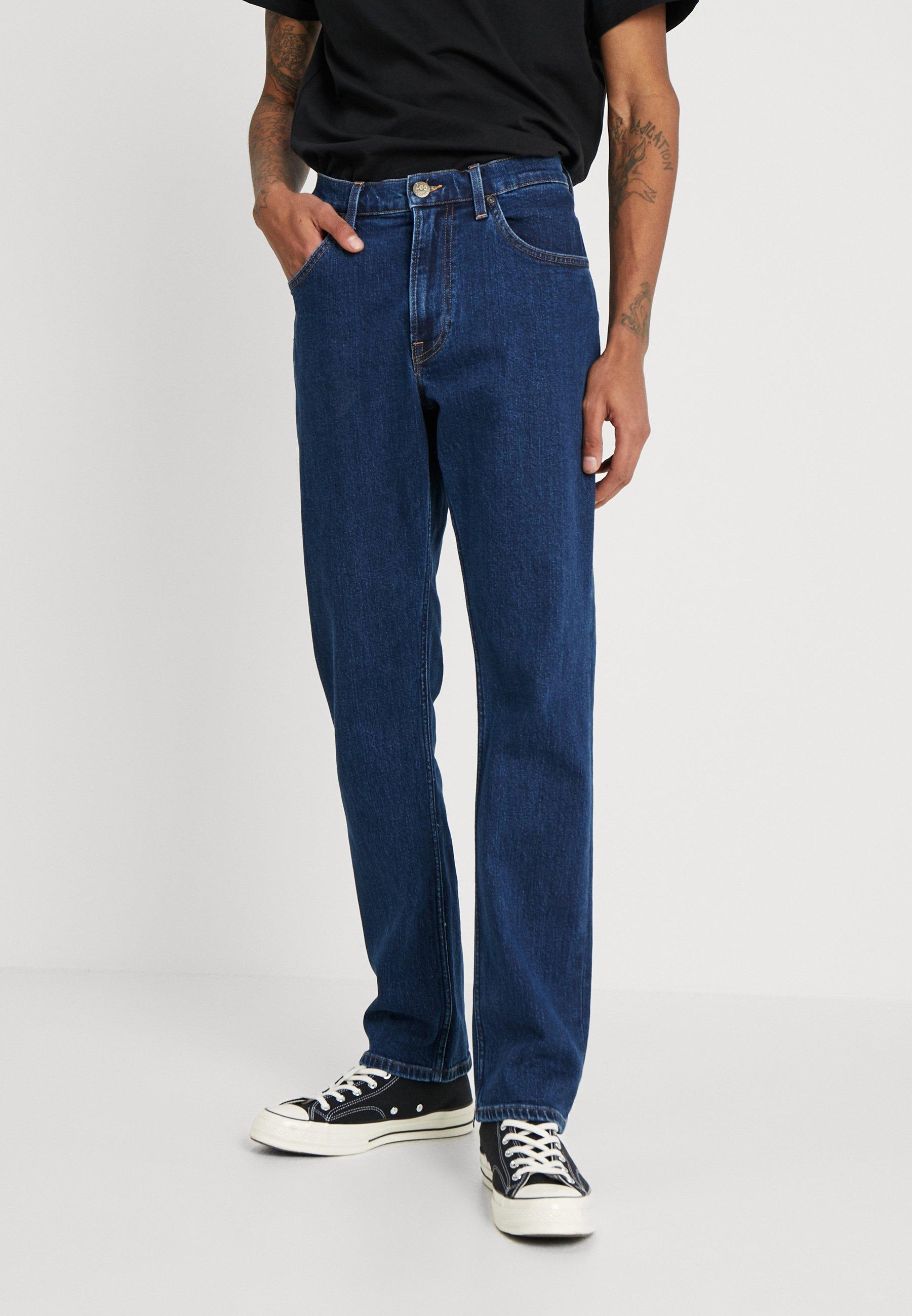 Lee Men Black /'Rinse/' Wash /'Brooklyn/' Comfort Fit Jeans